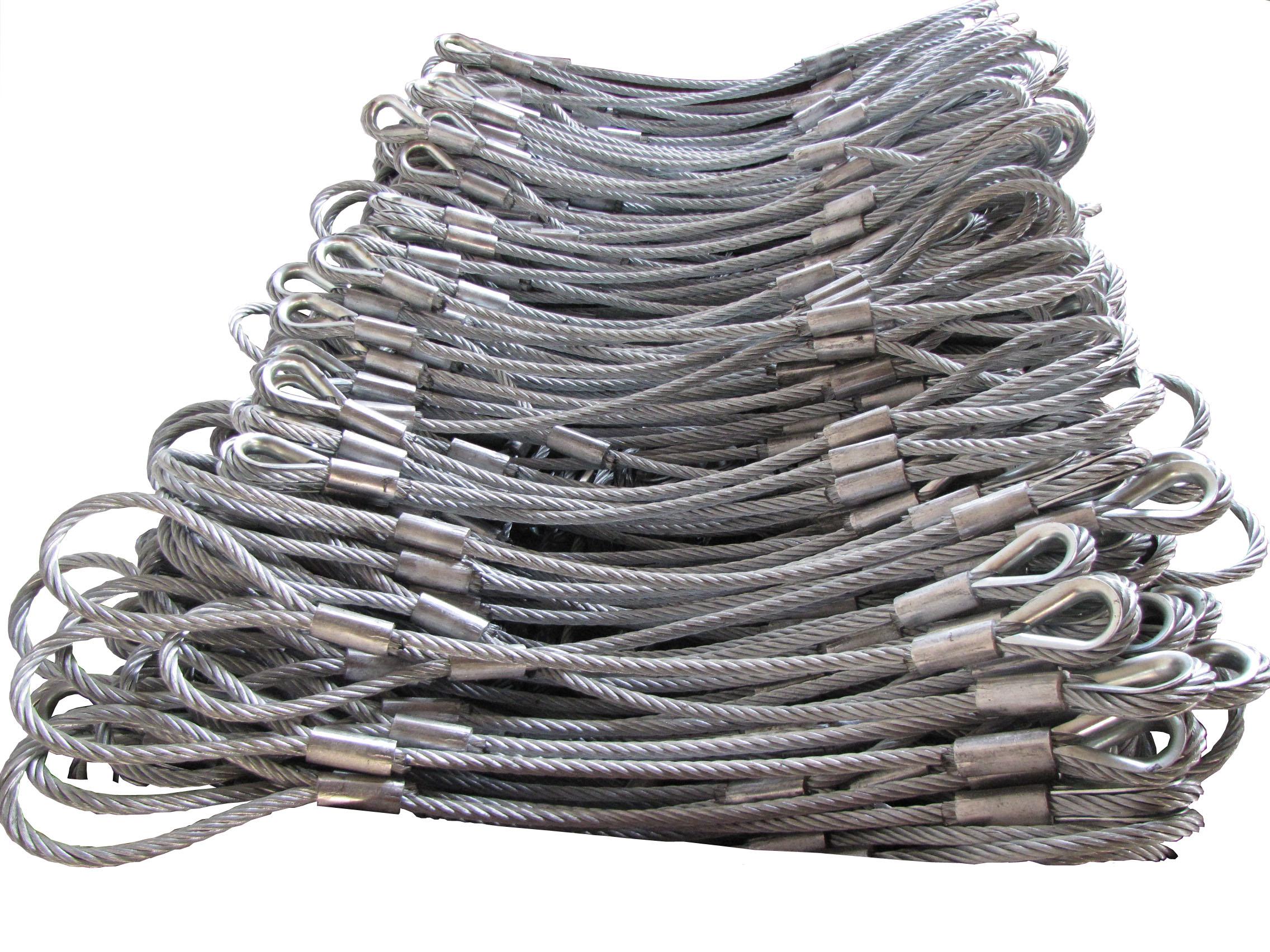钢丝绳压制